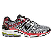 New Balance 880v2, Silver with Red