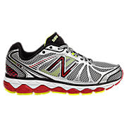 New Balance 880v3, Silver with Red