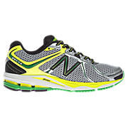 New Balance M880WY2, White with Yellow & Green