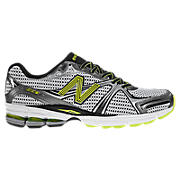New Balance 880, Silver with Lime Green