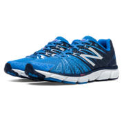 New Balance 890v5, Blue with Navy & White
