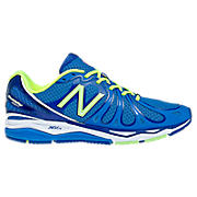 New Balance 890v3, Blue with Neon Green & White