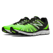 New Balance 890v5, Black with Lime Green