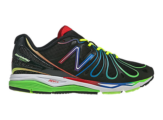 Rainbow 890v3, Black with Red & Green
