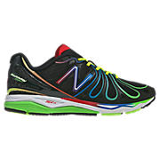 New Balance 890v3, Black with Red & Green