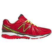 New Balance 890v2, Red with Lime Green & Black