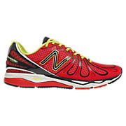 New Balance 890v3, Red with Black & Yellow