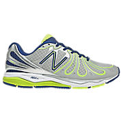 New Balance 890v3, Grey with Lime & Blue