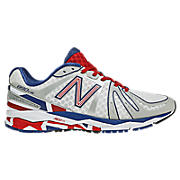 Limited Edition 890v2, White with Red & Blue