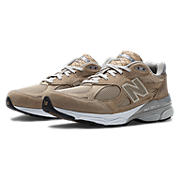 New Balance 990v3, Beige with White