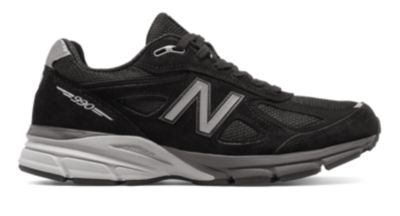 Image of New Balance 990v4 Men's Made in US Collection Shoes | M990BK4
