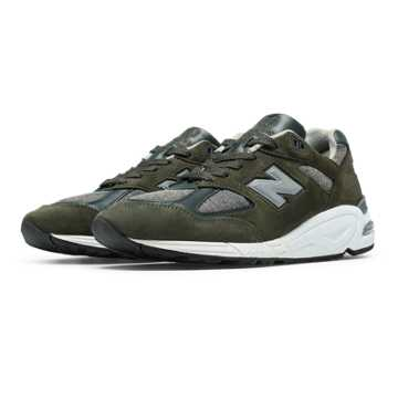 New Balance 990 Age of Exploration, Olive with Grey