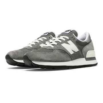 New Balance 990 Made in the USA Bringback, Grey with White