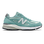 New Balance 990v4, Sage with Seafoam