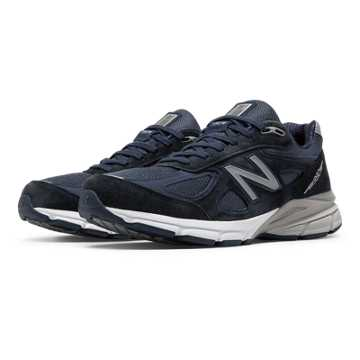 New Balance New Balance 990v4, Navy with Silver