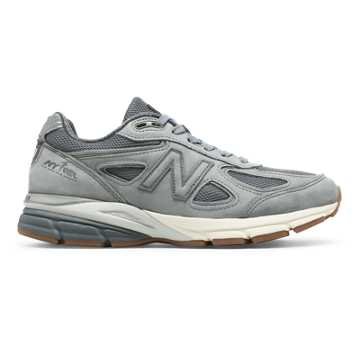 New Balance 990v4 Club Pack, Grey with Gunmetal