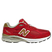 Mens Limited Edition NYC 990, Red with Gold