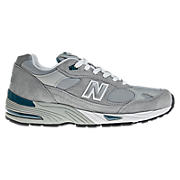 New Balance 991, Grey with White & Blue