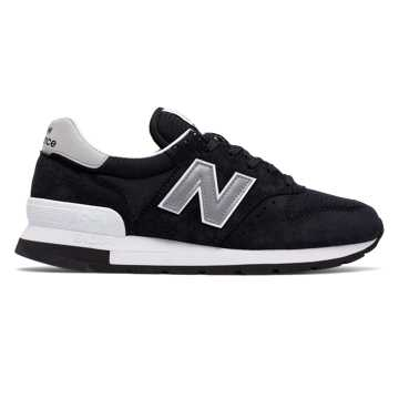 New Balance 995 New Balance, Black with Silver