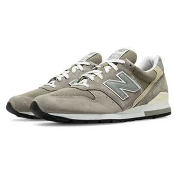 New Balance 996 Made in the USA Bringback, Grey with White