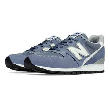 New Balance 996 Age of Exploration, Blue Bell with Silver
