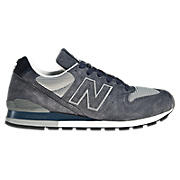 New Balance 996, Grey with Blue & White