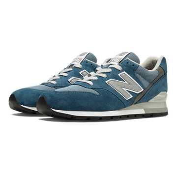 New Balance 996 Connoisseur, Blue Jewel with Chambray & Silver