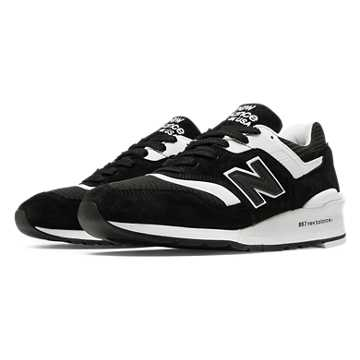 New Balance 997 New Balance, Black with White