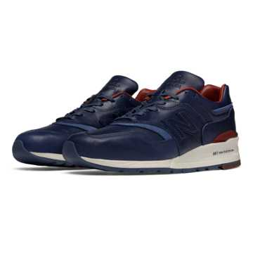 New Balance 997 Explore by Sea, Navy with Brown