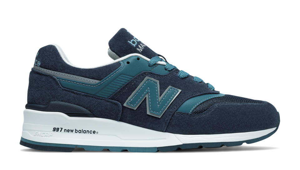 New Balance 997 New Balance, Navy with Castaway