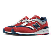 997 Connoisseur Retro Ski, Red with Navy & Silver