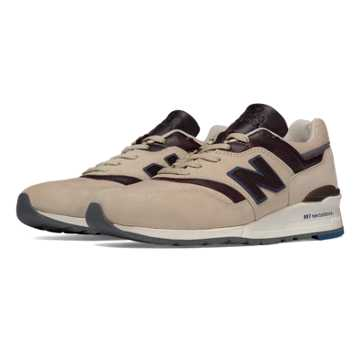 New Balance 997 Explore by Sea, Tan with Brown