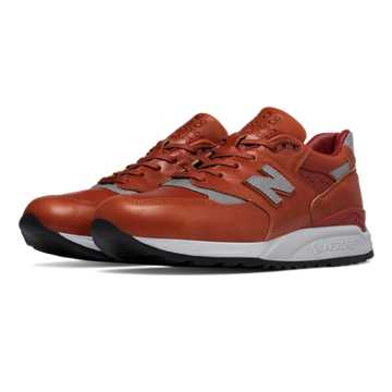 New Balance 998 Age of Exploration, Brown with Silver