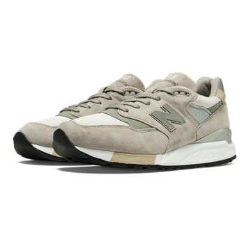 New Balance 998 Connoisseur Guitar, Grey with Silver