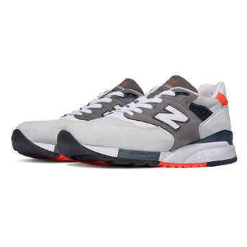 New Balance 998 Explore by Air, Light Grey with Black