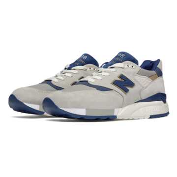 New Balance 998 Explore by Sea, Grey with Navy