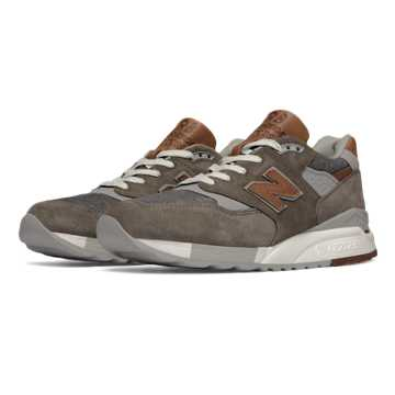 New Balance 998 Explore by Sea, Grey with Tan