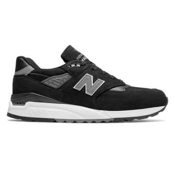 New Balance 998 New Balance, Black with Grey