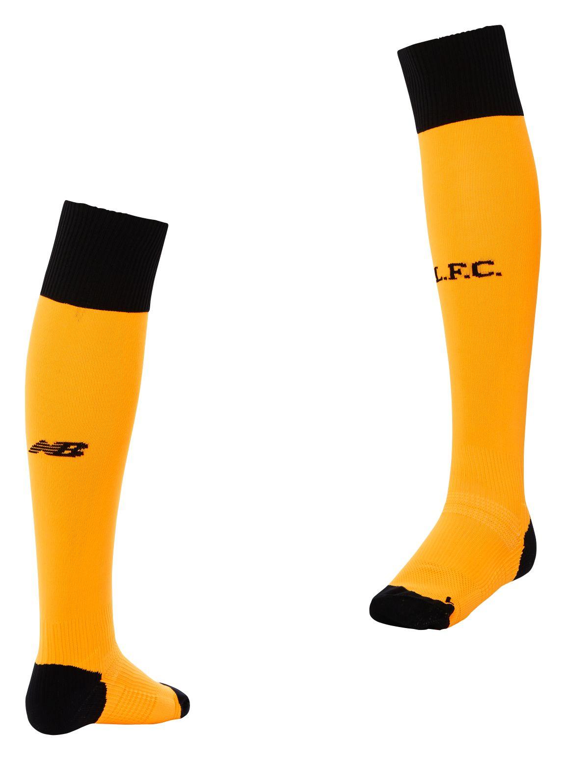 New Balance : LFC Mens Away GK Sock : Men's 2016/17 Away Kit : MA630004IPS