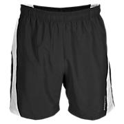 Baseline Short, Black with White