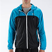 Windcheater Jacket, Blue with Graphite