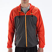 Windcheater Jacket, Orange with Magnet