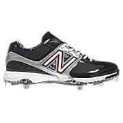 New Balance 4040, Black with Silver & Red