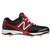 New Balance 4040, Black with Red & White