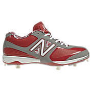 New Balance 4040, Grey with Red