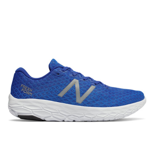 New Balance Fresh Foam Beacon Scarpe - Electric Blue/Team Royal/White