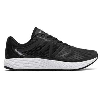 New Balance Fresh Foam Boracay v3, Black with White