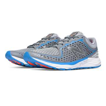 New Balance Vazee Breathe, Metallic Silver with Gunmetal & Toxic