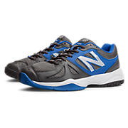 New Balance 696, Black with Blue & White