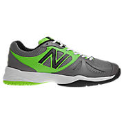 New Balance 696, Silver with Green